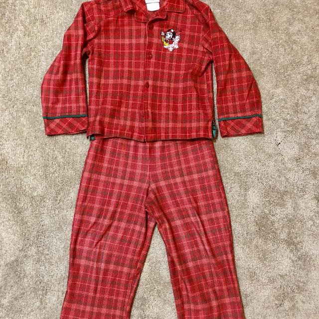 size 56 mickey mouse christmas themed pjs in euc 4 - Mickey Mouse Christmas Pajamas