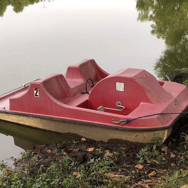 Industrial paddle boat (commercial grade)