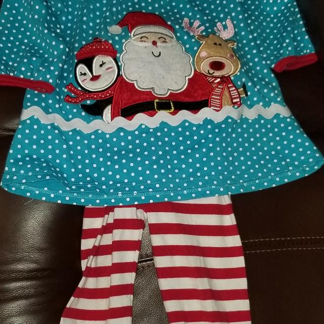 Rare Editions Christmas Toddler.Rare Editions Christmas Toddler Outfit 3t