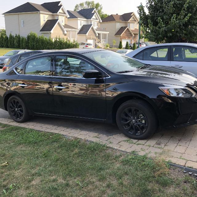2018 nissan sentra midnight edition for sale