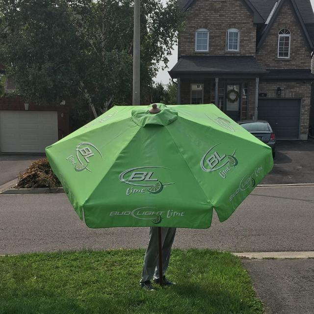 Find More Bud Light Lime Patio Umbrella