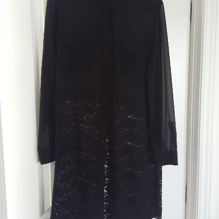 BCBG Maxazria black lace long blouse... for sale  Canada