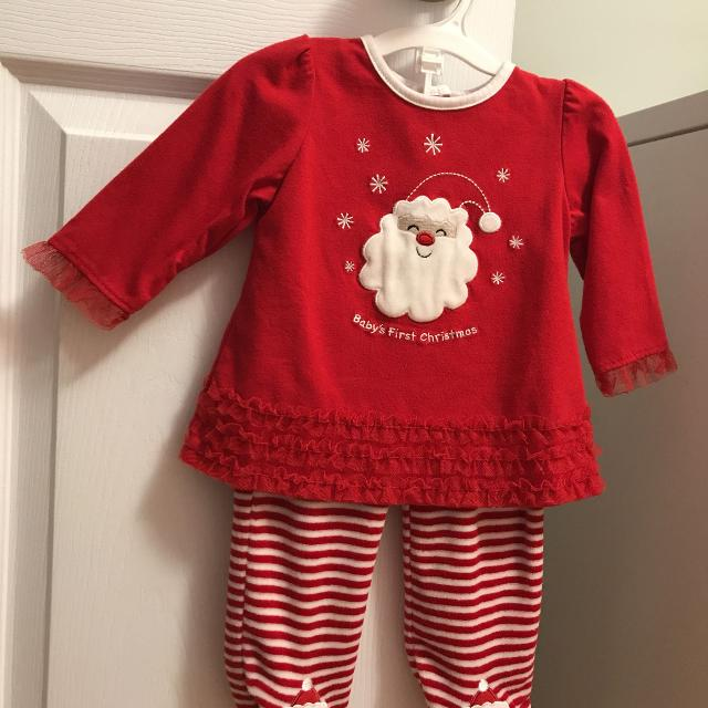 babys first christmas outfit 0 3 months