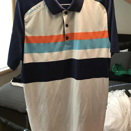 Oakley size L golf shirt for sale  Canada