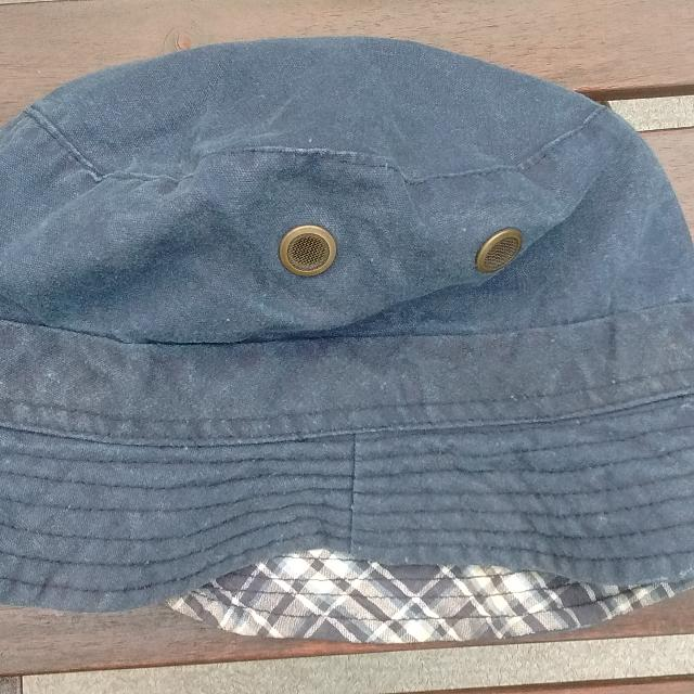 704a1a1eb0f9c Best Unisex Plaid Blue Denim Reversible Bucket Hat for sale in Ladner
