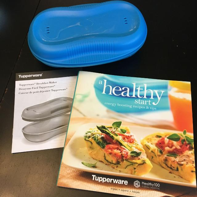 best tupperware breakfast maker cookbook for sale in prince albert