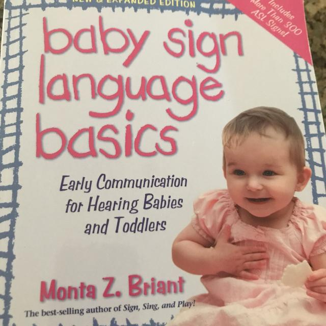 Best Baby Sign Language Book For Sale In Richmond Hill Ontario For 2019