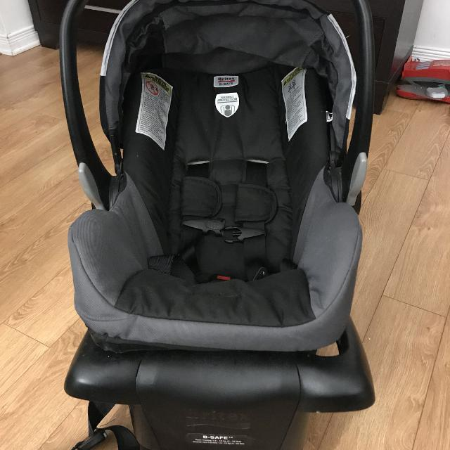 Britax B Safe Car Seat With Booster