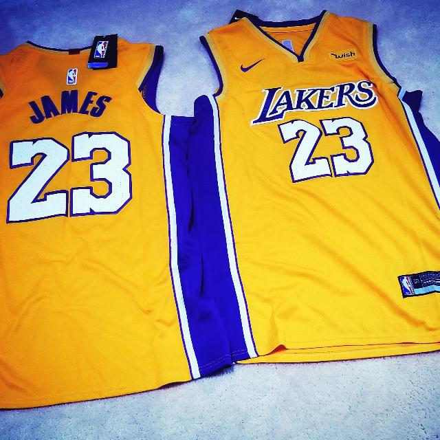 52a511a76f5 Best Lebron James Lakers Jersey Size L for sale in Oshawa, Ontario for 2019