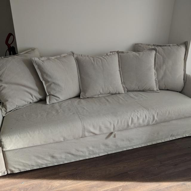 Best Ikea Holmsund Couch With Pullout Bed For Sale In Brockton