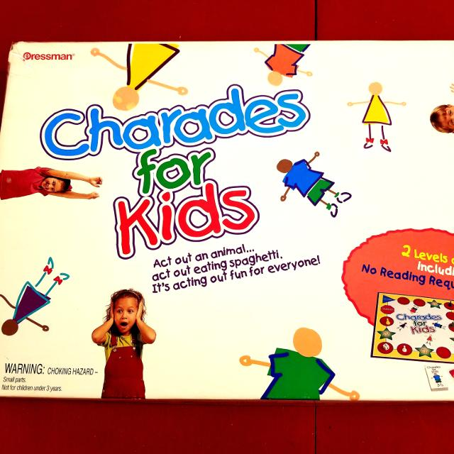 Charades for Kids Game! Complete! VGUC!