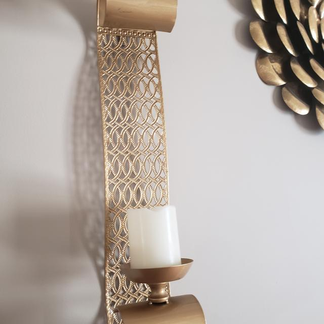 Find More Two Kirklands Gold Wall Sconces For Sale At Up To 90 Off