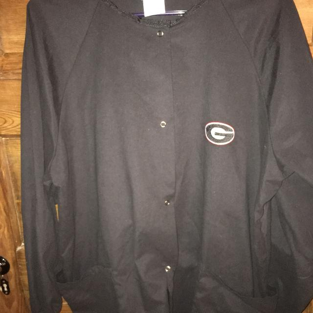 10dbb993464 Best Georgia Bulldog Blk Long Sleeve Scrub Top Size L $12 Must Pickup In  Mcdonough for sale in McDonough, Georgia for 2019