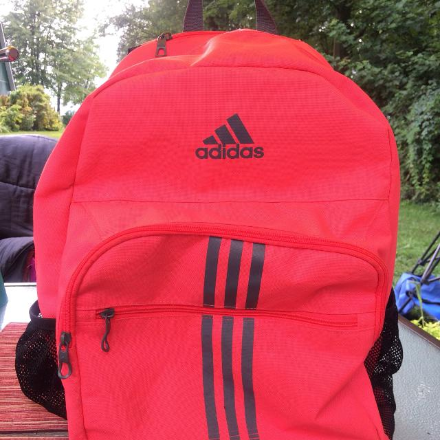 961379ac15 Find more Adult Size Adidas Neon Pink Coral Napsack for sale at up ...
