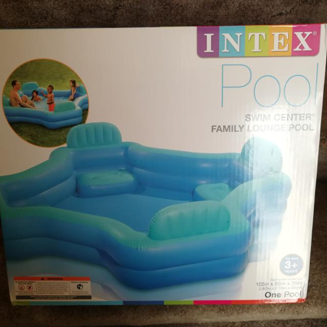 Best Intex Swim Center Family Lounge Pool For Sale In Victoria