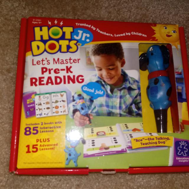 Find More Hot Dots Jr Pre K Reading Like New Retails 25 20