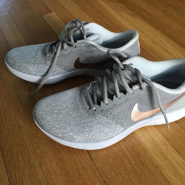 cc2ef5b2f72 Find more Like New Nike Flex Contact Running Shoes In Grey rose Gold ...