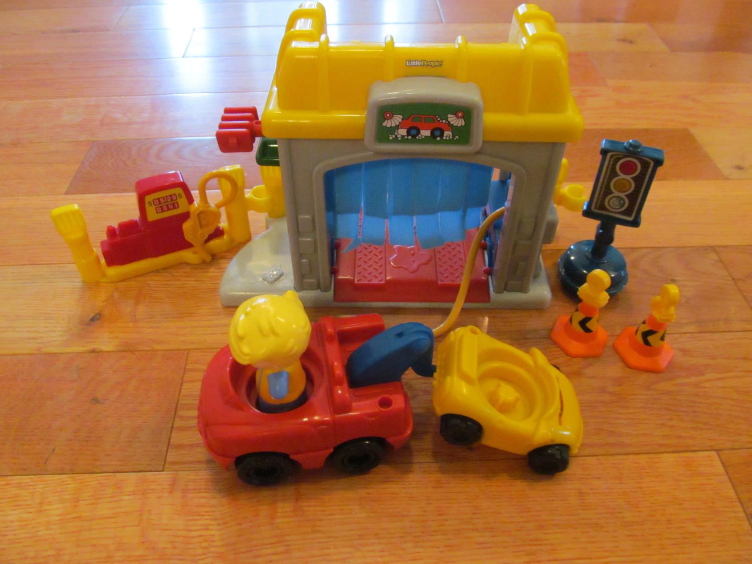 Find More Little People Gas Station Car Wash For Sale At Up To 90 Off