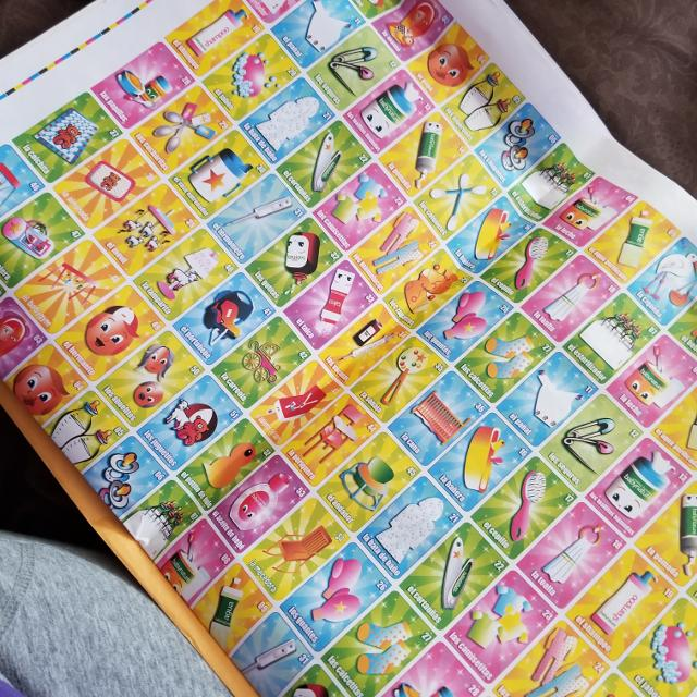 Best 3 Sheets Of Baby Loteria In Spanish For Sale In Brazoria County