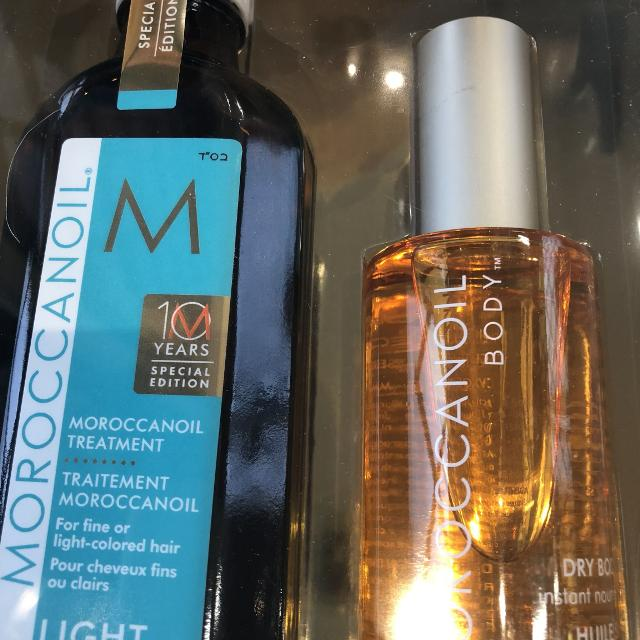 Last Day To Save 5 Dollors Moroccanoil Treatment Oil And Dry Body Oil