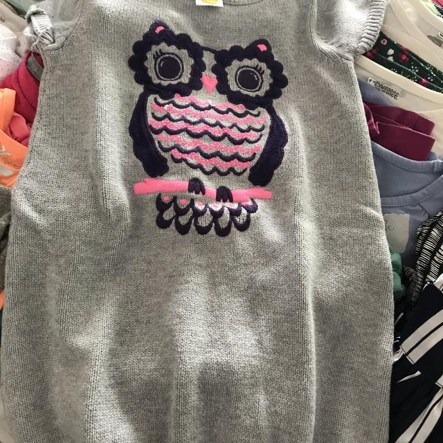 d9ae69eea89 Find more Gymboree Size 5 Owl Sweater Dress for sale at up to 90% off