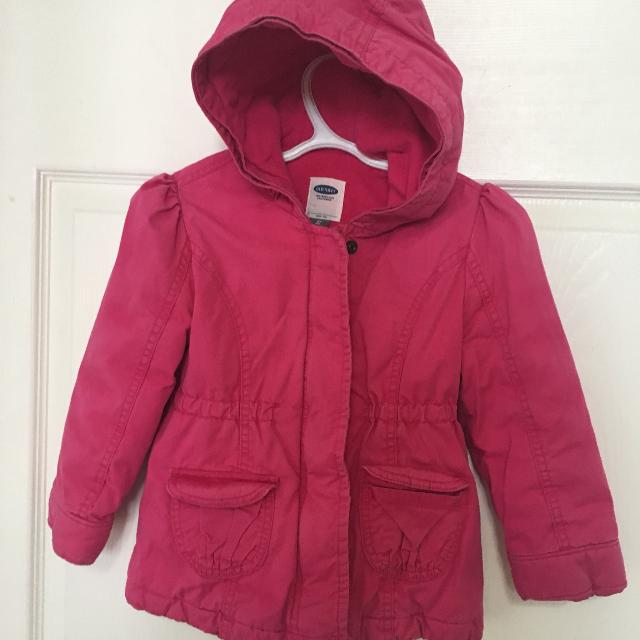 d9f7087b8 Find more Guc Dark Pink Old Navy Fall winter Coat -size 5 for sale ...