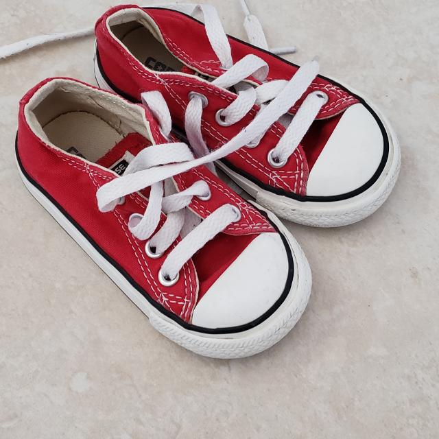 af9d0e6f8c5a Find more Toddler Size 5 Red Converse for sale at up to 90% off