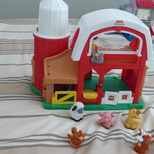 Find More Little People Fisher Price Farm 20 For Sale At Up To 90 Off