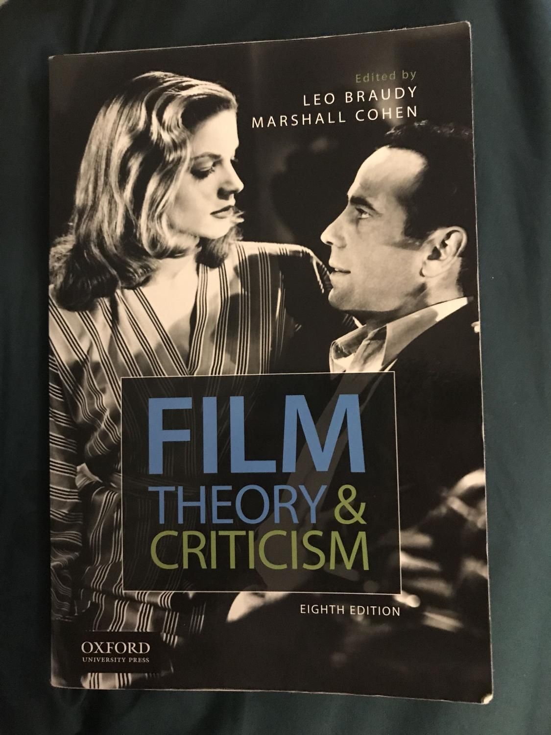 Best Film Theory Criticism By Leo Braudy For Sale In Regina Saskatchewan For 2020