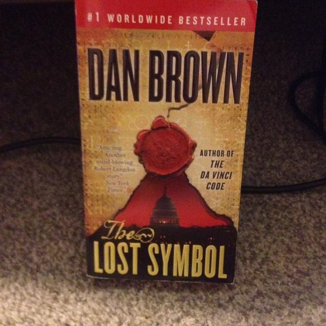 Best Oversized Mass Market Paperback Of The Lost Symbol By Dan Brown