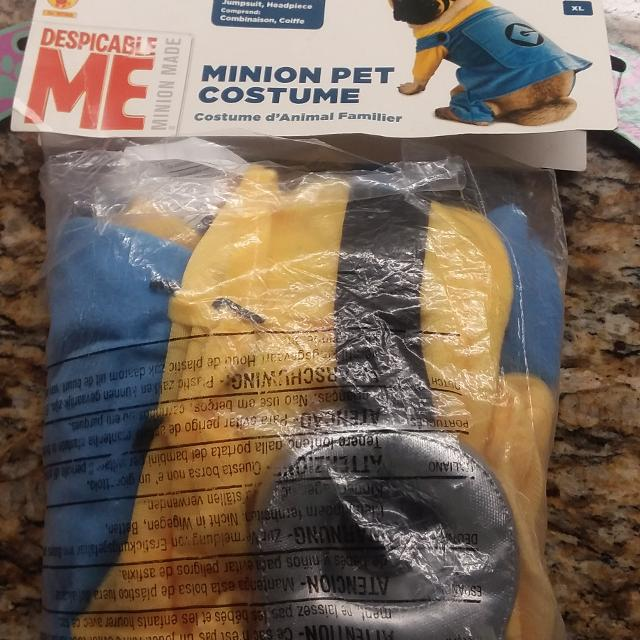 Find More Minion Dogcat Costume Sixe Xl For Sale At Up To 90 Off