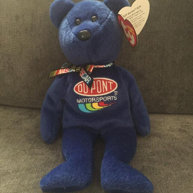Find more  beanie Baby  Jeff Gordon for sale at up to 90% off 3cdd11c545b