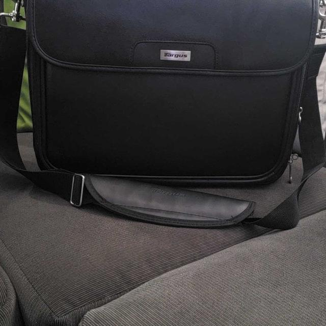 Never Used Targus Leather Laptop Bag