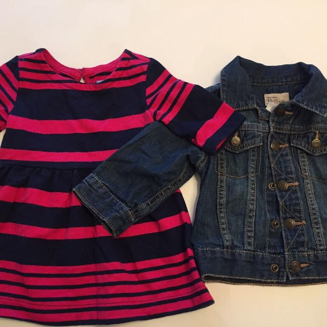 bc611ae8f595 Best Gap Dress And Jean Jacket Size 12-18m for sale in Scarborough ...