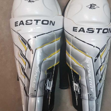 "Easton Synergy Shin Guards - 11"" for sale  Canada"