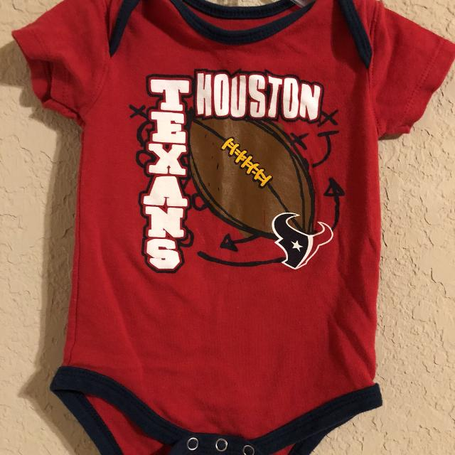 Find more Houston Texans Nfl Football Red Onesie Playsuit. Nice ... 35a3b61a5
