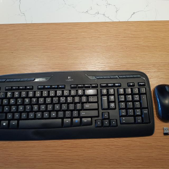 a656a535c10 Find more Logitech K330 Wireless Keyboard And Mouse for sale at up ...