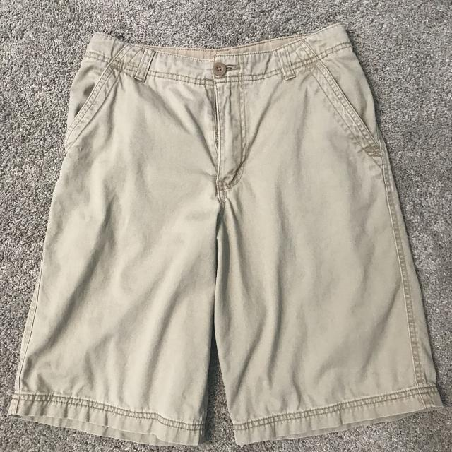 629c77c7 Best Boys Faded Glory Khaki Flat Front Shorts... Size 14... Excellent ...  $3 for sale in Hendersonville, Tennessee for 2019