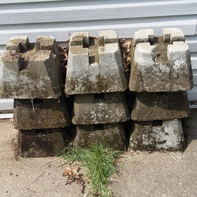 Find more 9 Concrete Pier Block for sale at up to 90% off