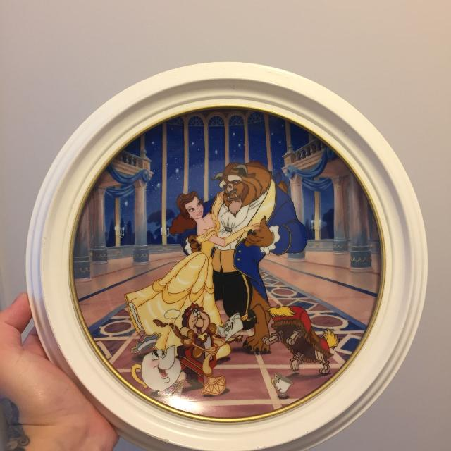 Beauty And The Beast Collectibles >> Beauty And The Beast Collectible Plate