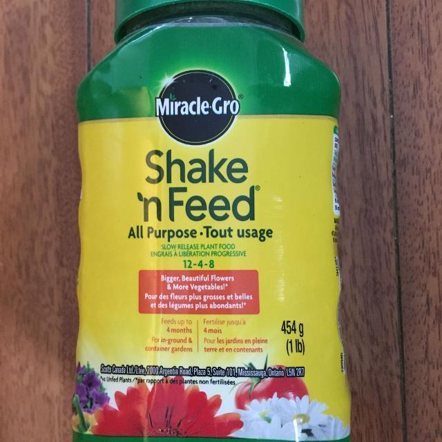 Miracle Gro All Purpose Fertilizer 1 Lb Container