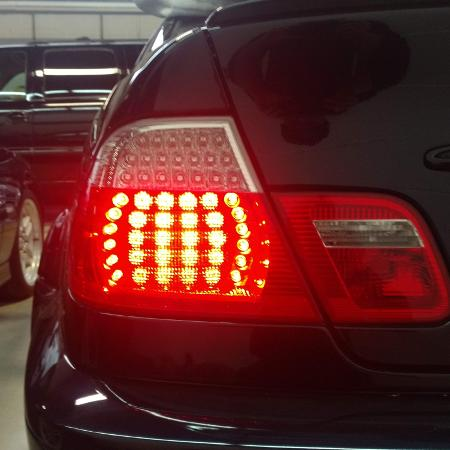 Used, BMW e46 coupe LED tail lights for sale  Canada