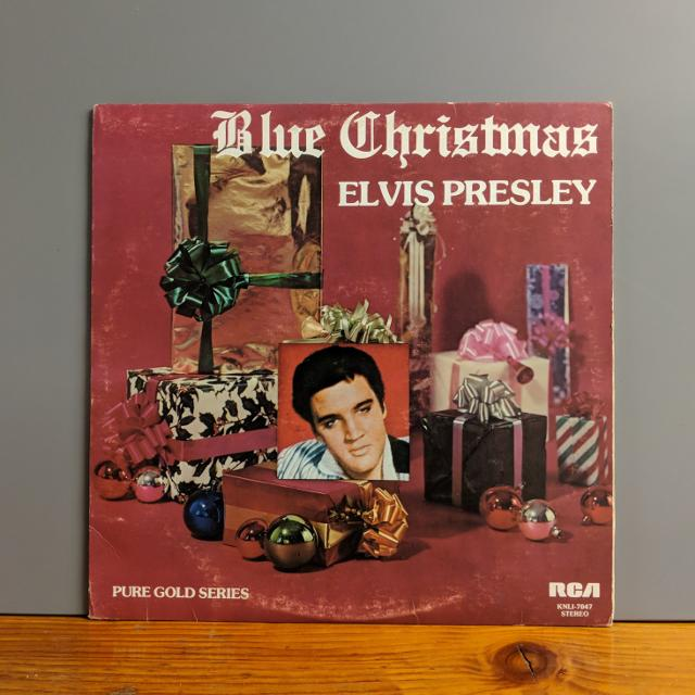 elvis presley blue christmas lp - Blue Christmas Elvis Presley