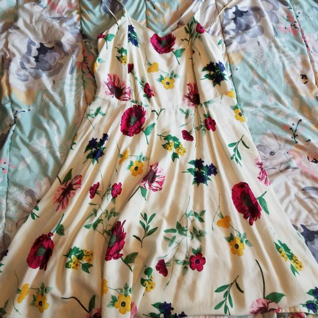 Find More Very Pretty Flower Dress Xl For Sale At Up To 90 Off