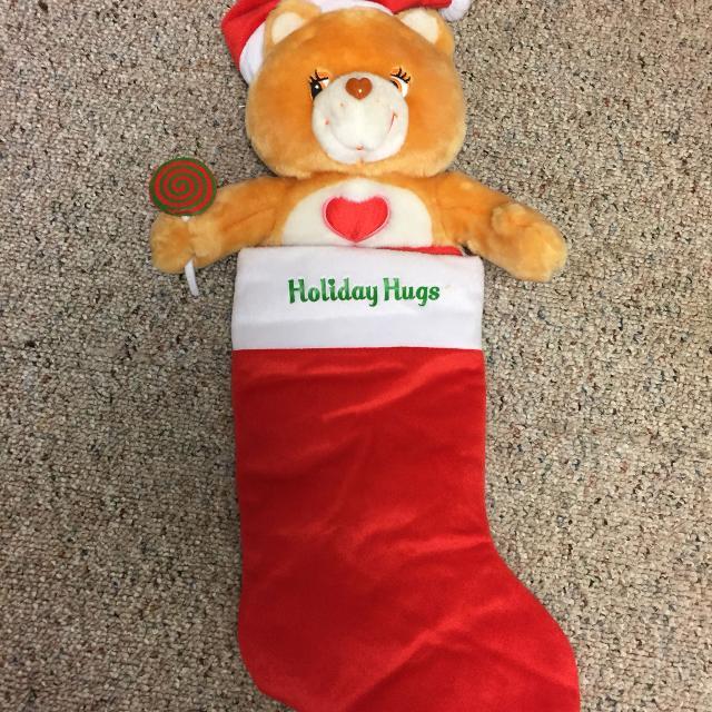 care bear christmas stocking