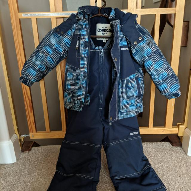 79479cef4 Find more 3t Oshkosh Boys Winter Coat And Snow Pant Set for sale at ...