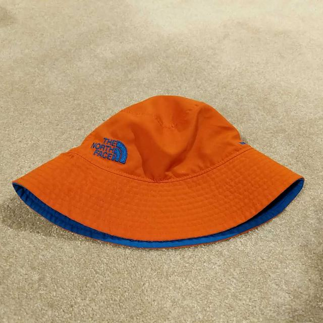 Best The North Face Toddler Reversible Sun Hat 6-12 Months for sale ... 297a96f5e45