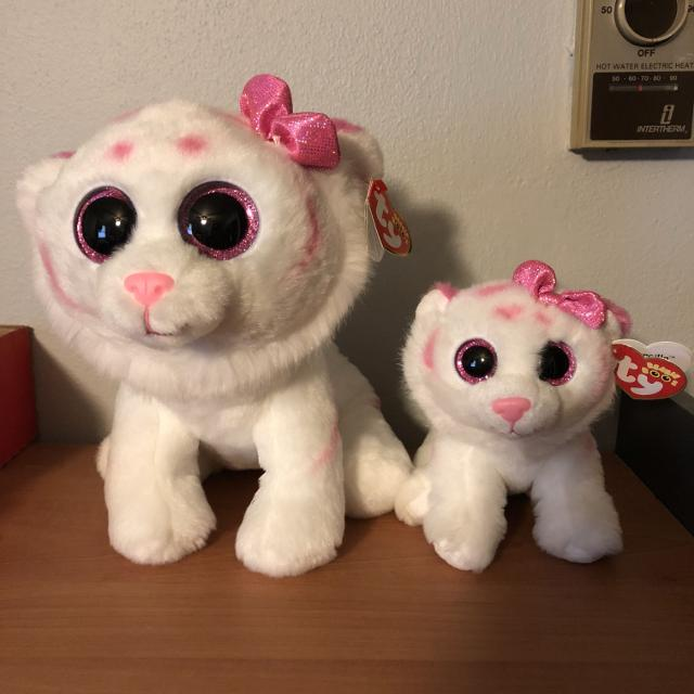 9d25a570535 Find more New Ty Beanie Boos Large And Small Tigers for sale at up ...