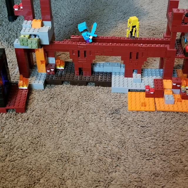 Lego minecraft the nether fortress