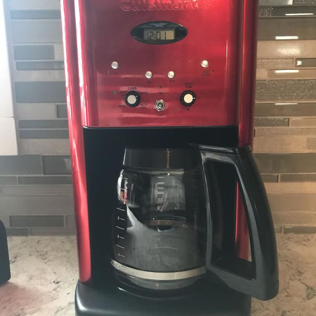 Cuisinart Red Coffee Maker